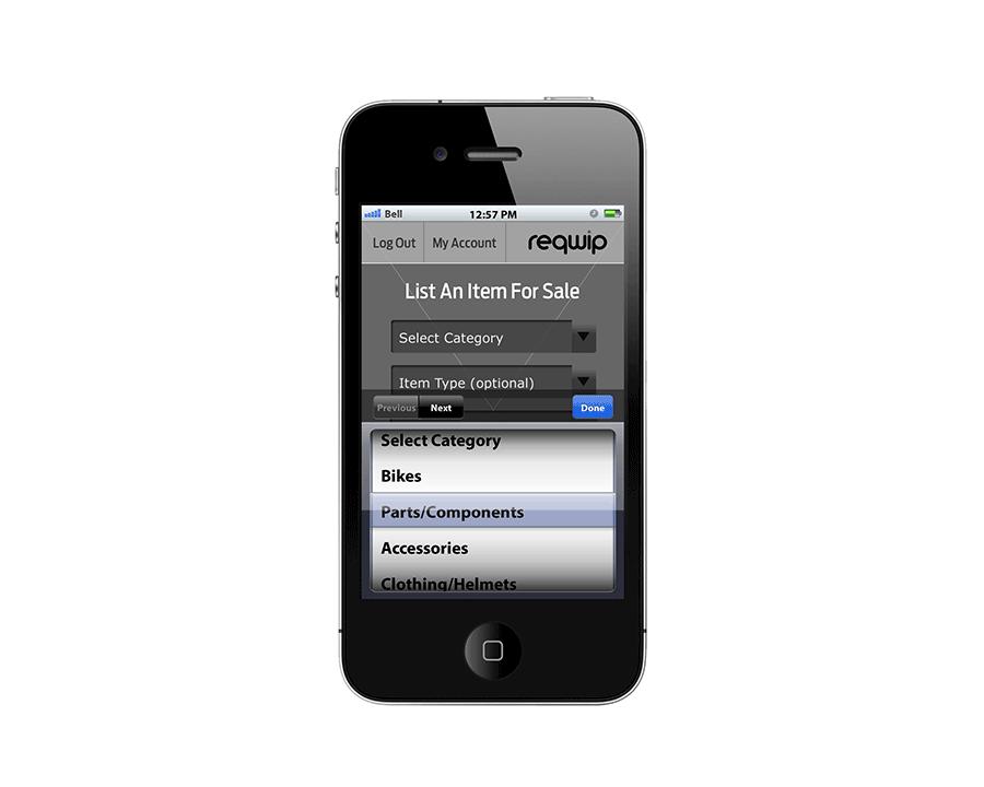 Reqwip Mobile App