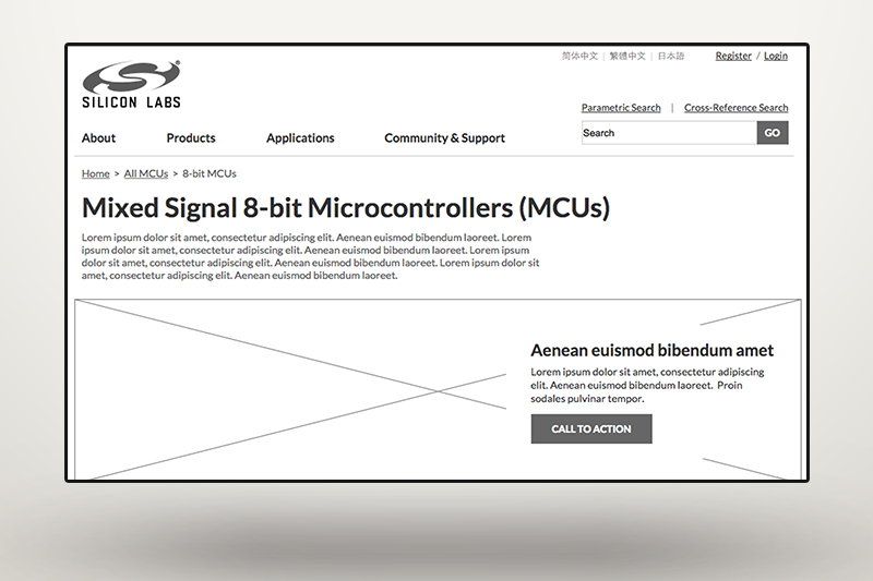 Silicon Labs Microcontroller Products